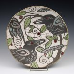 Raku Bird Bowl_Sophie