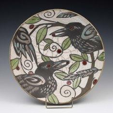 Raku Bird Bowl_Sophie
