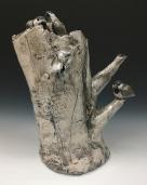 Bird Stump Urn_72