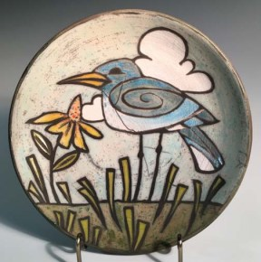 bird bowl spiral wing