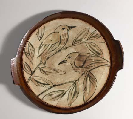 Bird Serving Plate, $40